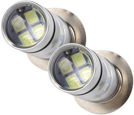 100W For Yamaha Grizzly 125 350 400 450 600 660 LED Headlight Bulbs 8000K Blue