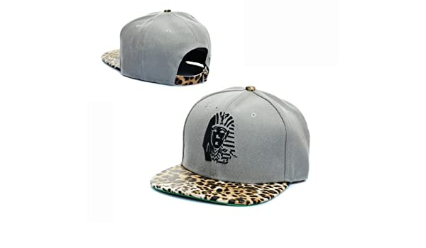 LAST KINGS Top Vintage Negro Leopard Snapback Cap: Amazon.es ...