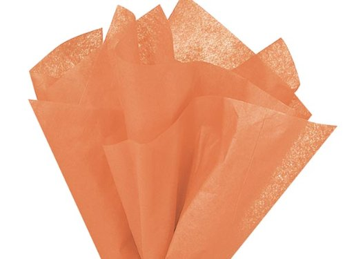 Pack of 480, Solid Terra Cotta Tissue Paper 20 x 30