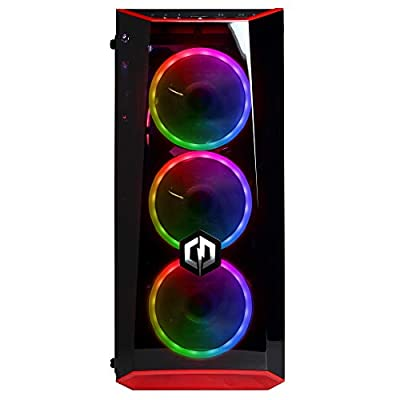 CyberpowerPC Gamer Xtreme VR GXiVR8520A Gaming PC (Intel Core i7-8700 3.2GHz, 16GB DDR4, NVIDIA GeForce GTX 1660 Ti 6GB, 120GB SSD, 1TB HDD, 802.11AC WiFi & Win 10 Home) Black