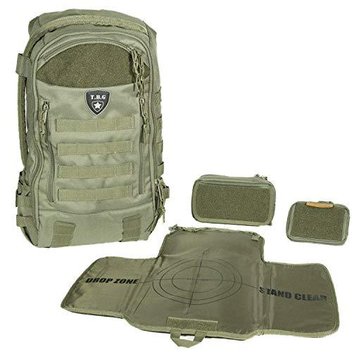 Tactical Baby Gear Daypack 3.0 Tactical Diaper Bag Backpack Combo Set (Ranger Green)