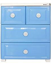Citylife G-5075 178L 3 Tier Storage Cabinet, 595 * 400 * 735mm, Blue