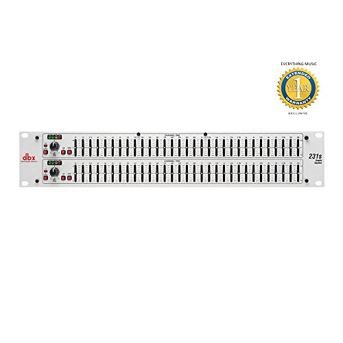dbx 231s Dual Channel 31-Band Equalizer with Microfiber and Free EverythingMusic 1 Year Extended ()