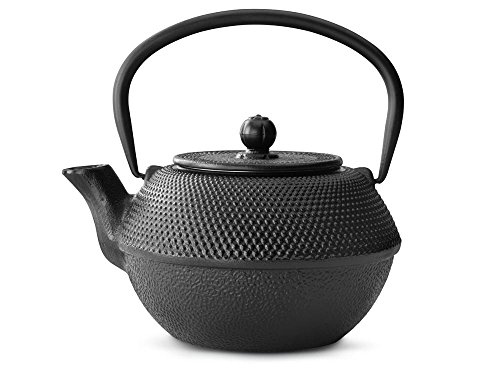 bredemeijer Jang Teapot, 1.2-Liter, Black Cast Iron
