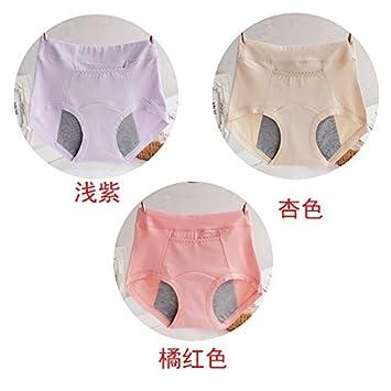3 caja salud fisiológica Pantalones Pantalones impermeable Cintura Briefs ropa interior,M,B