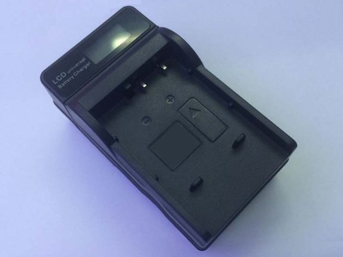 GZ-MS120BU GZ-MS120AU LCD Quick Battery Charger for JVC Everio GZ-MS120U GZ-MS120RU Camcorder