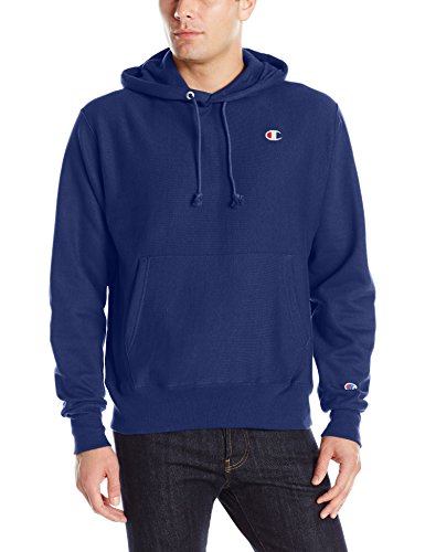 (Champion LIFE Men's Reverse Weave Pullover Hoodie, Surf The Web, Large)