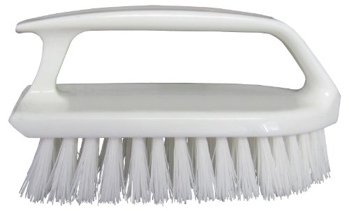 Star Brite Curved Plastic Handle Scrub Brush