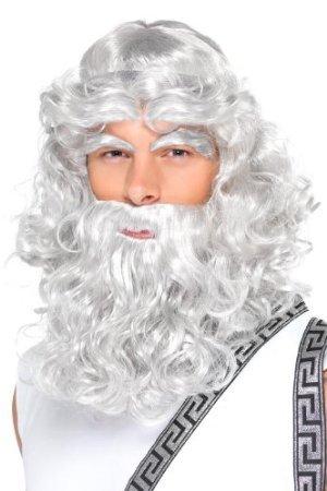 Zeus Wig Costume Accessory]()