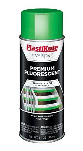 PlastiKote FL-7 Flourescent Go Green Premium Enamel, 12 oz.