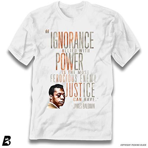 James Baldwin Ignorance Allied with Power Premium Unisex T-Shirt