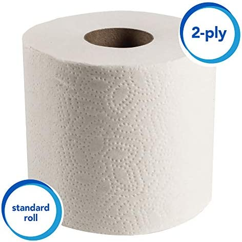 Scott Essential Professional Bulk Toilet Paper for Business 04460 Individually Wrapped Standard