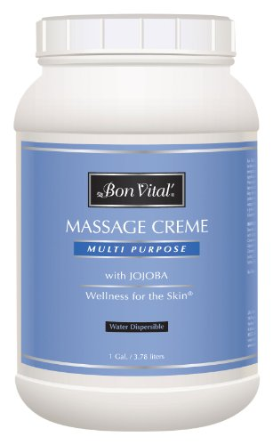Bon Vital' Multi-Purpose Massage Crème, Professional Mass...