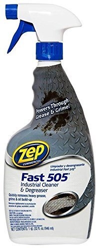 Fast 505 Cleaner & Degreaser, Lemon Scent, 32 oz Spray Bottle, Sold as 1 Each, 6PACK , Total 6 Each by Zep by AMREP
