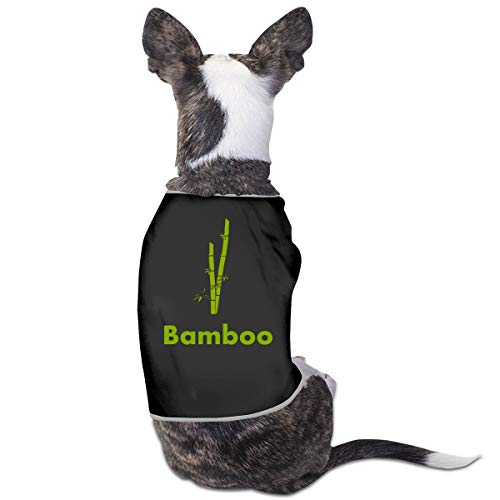 (Agilitynoun Dog T-Shirt Clothes Bamboo Doggy Puppy Tank Top Pet Cat Coats Outfit Jumpsuit Hoodie )