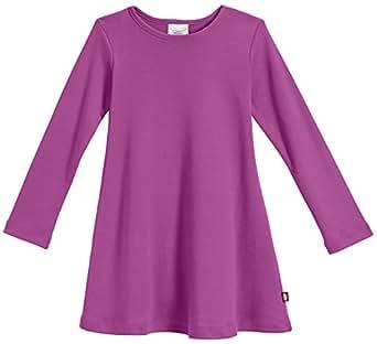 Amazon.com  City Threads Girls  Super Soft Cotton Long Sleeve Dress ... 6aedff0da