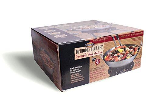 Eastman Outdoors 37212 Carbon Steel Wok Kit