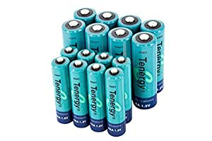 Amazon.com: Tenergy High Drain AA and AAA Battery, 1.2V