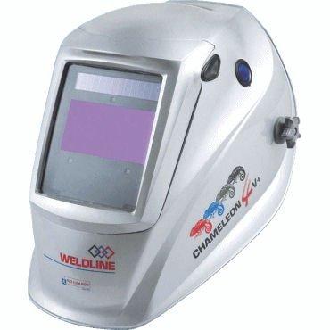 Máscara de soldar de cristal líquido CHAMELEON 4 V-Tono variable DIN 4/9