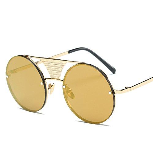 Aoligei Lunettes de soleil personnalité crâne griffe nouvelle tendance rétro Dame homme lunettes QmfpLMrWgi