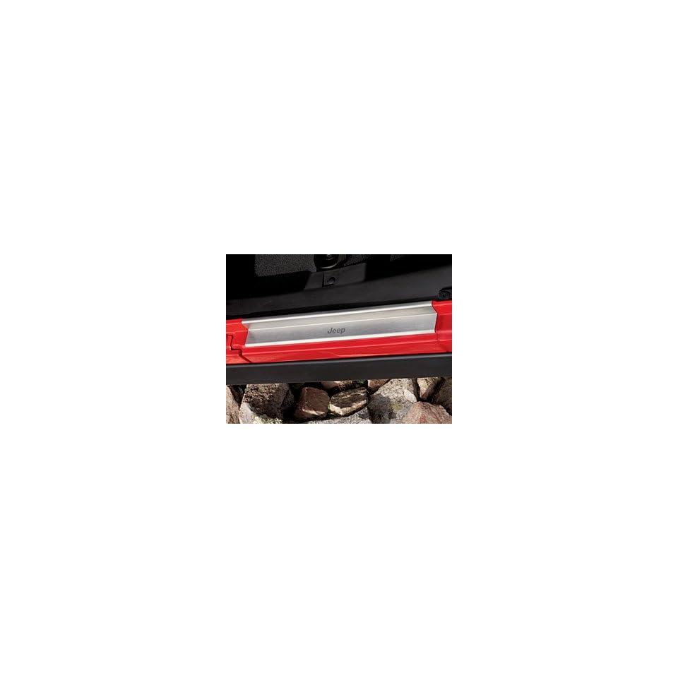 Jeep Wrangler 4 Door, Door Entry Guards