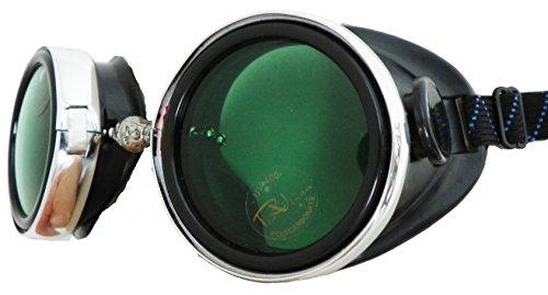 Road Vision Round Lens Screw Cap Goggles Steam Punk Burning Extra Lens...