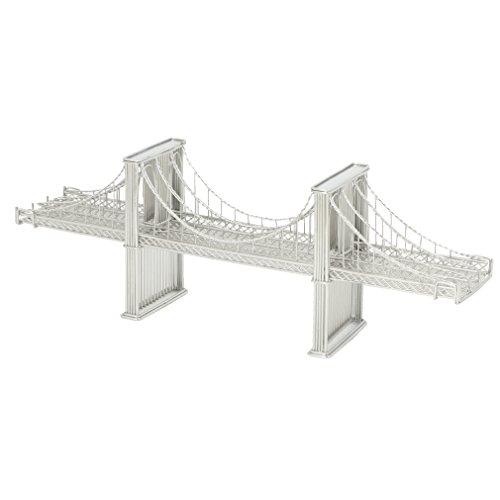 Brooklyn Bridge Wire Model, Design Ideas Doodles, Brooklyn Bridge Replica Statue of New York City (14 Inches) (Ny Brooklyn Bridge)
