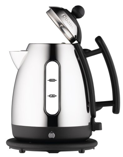 Dualit 72460 Cordless 12-Cup Jug Kettle, Chrome