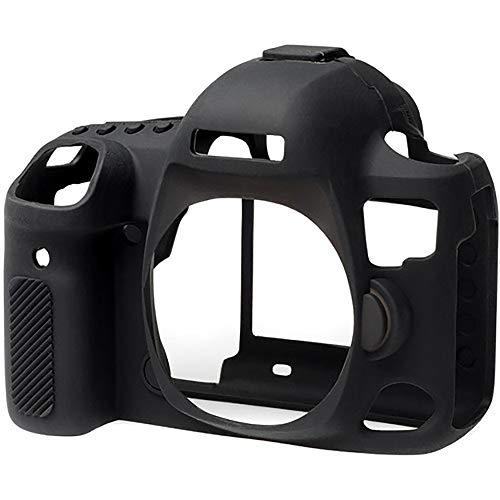 NEOHOOK Canon 5D Mark IV Camera Case, Professional Silicone Rubber Camera Case Cover Detachable Protective for Canon 5D Mark IV – Black