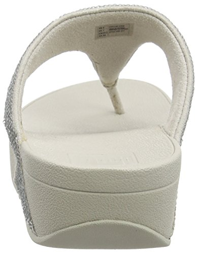 Fitflop silver Mujer Chanclas Electra Para Micro Plateado UPYwUqrC
