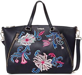 Desigual Bag Orangina Piadena Women – Borsette da polso Donna, Blu (Navy), 10×23.8×29.8 cm (B x H T)