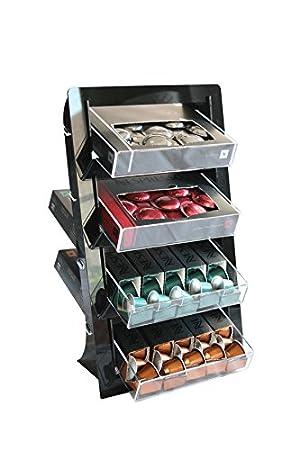 Dispensador de cápsulas de Nespresso/Depósito de cápsulas para ...