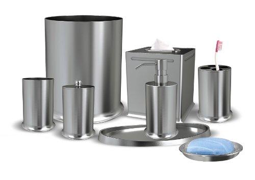 Nu Steel Newport Collection Bathroom Accessories Set ,8-Piece by nu steel