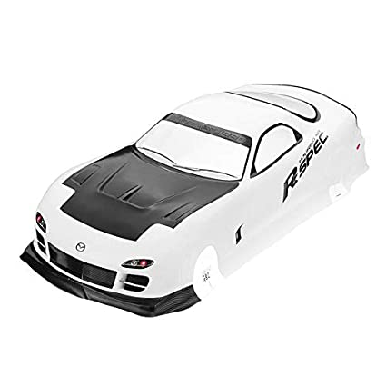 Amazon.com: 8.268 x 18.110 in Tamiya cuerpo Shell Mazda RX-7 ...