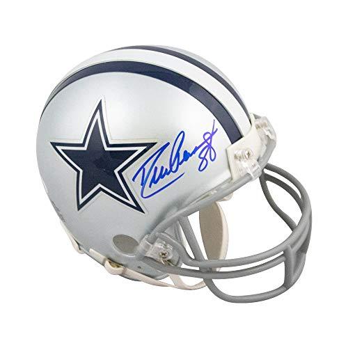 Drew Pearson Autographed Dallas Cowboys Mini Football Helmet - JSA COA