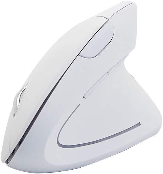 Wireless Mouse 2.4GHz Game Ergonomic Design Vertical Mouse 1600 DPI USB Mice,Ideal for Work//Study Thepass Computer Mouse