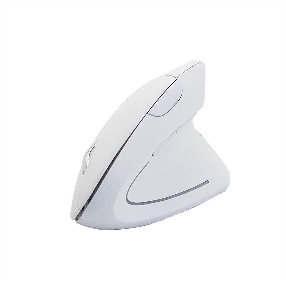 Black Wireless Mouse Jaminy Wireless Mouse 2.4GHz game Ergonomic Design Vertical mouse 1600DPI USB Mice
