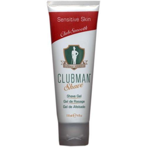 Clubman Shave Gel for Sensitive Skin, 4 oz ()