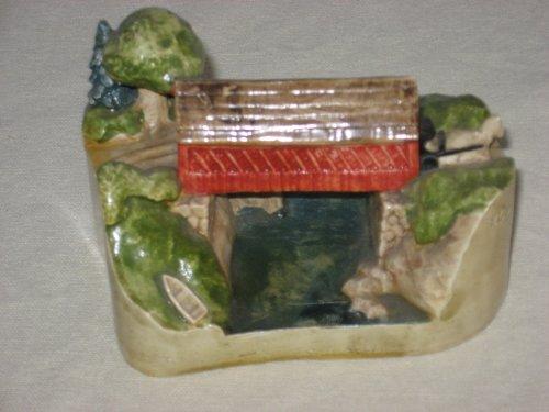 Sebastian Miniature Old Covered Bridge Figurine