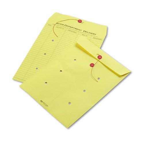 Button Colored Interoffice Envelope - 2