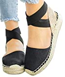 Thick Bottom Platform Sandals Shoes Women Summer Casual Strappy Wedge Sandals Closed Toe Shoes by...