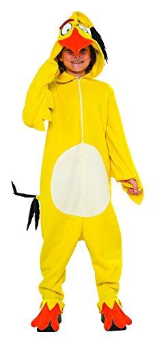 Rubie's Costume Kids Angry Birds Movie Chuck Costume, Large - Big Bird Mascot Costumes