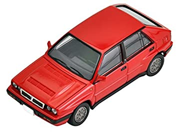Tomica Limited Vintage Neo 1/64 LV-N130a Lancia Delta Integrale 16V (red