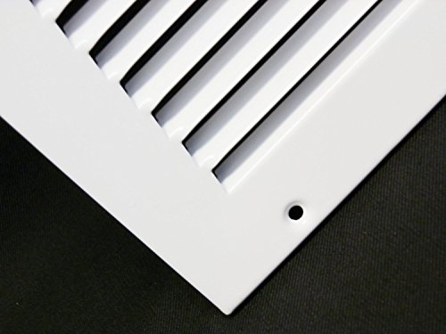 25''w X 16''h Steel Return Air Grilles - Sidewall and Cieling - HVAC DUCT COVER - White [Outer Dimensions: 26.75''w X 17.75''h] by HVAC Premium (Image #5)