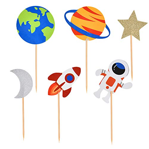 space theme cake decorations - 9