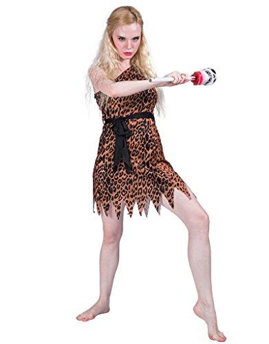FantastCostumes Halloween Cavewoman Costume Women (Leopard, X-Large)