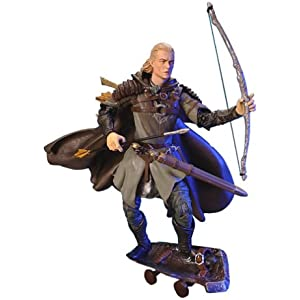 Amazon com: Lord of the Rings Gandalf the White Action