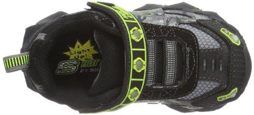 Skechers IBEXHumvee - Caña baja Unisex adulto Negro (BKCC)