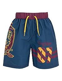 Harry Potter Boys Gryffindor Swim Shorts