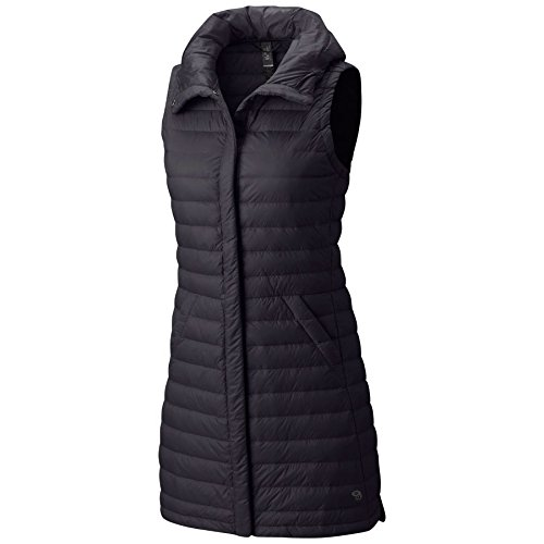 Mountain Hardwear Women s PackDown Vest Black M Matte Black Vest
